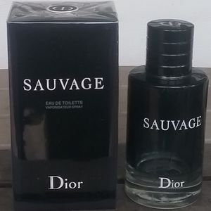Brand New Dior Sauvage EDT 3.4oz Never Opened